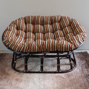 Bouirou Double Papasan Chair by World Menagerie