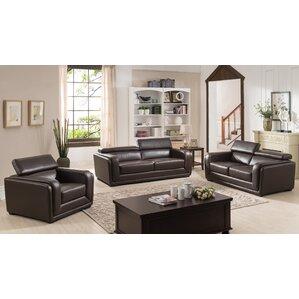 Shop 529 Leather Living Room Sets | Wayfair