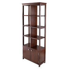 Oscar 2 Door Display Shelf by Winsome