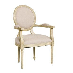 Medallion Upholstered Dining Chair by Zentique