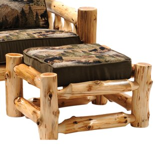 Fireside Lodge Cedar Chair Ottoman