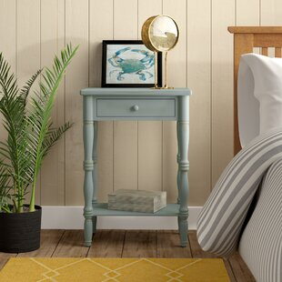 Best Reviews Jaliyah 1 Drawer Nightstand By Beachcrest Home