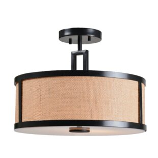 Gerard 2-Light Semi-Flush Mount by Wildon Home?