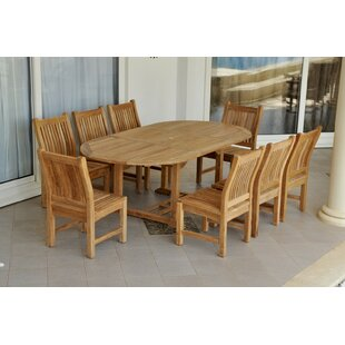Bahama 9 Piece Teak Dining Set