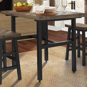 Somers Reclaimed Wood Counter Height Dining Table