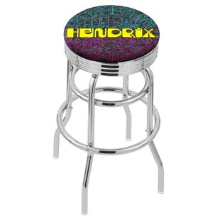 Jimi Hendrix 30 Swivel Bar Stool by Holland Bar Stool No Copoun