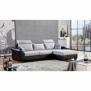 Headland Upholstered Reversible Modular Sectional (Set of 2)