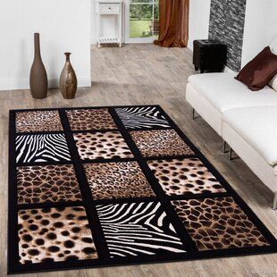 Affordable Black Area Rug By AllStar Rugs
