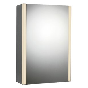 Look for 21 x 27 Surface Mount Medicine Cabinet with LED Lighting By Rebrilliant