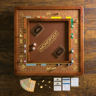 Wooden Monopoly Game | Wayfair