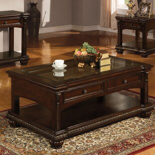 Wentz Coffee Table with Storage Astoria Grand