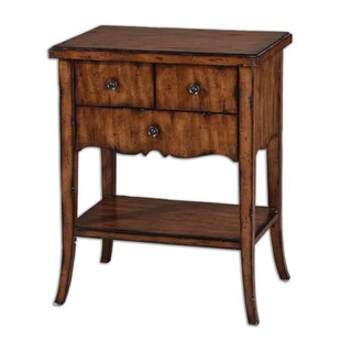 Reviews Mario Carmel End Table by August Grove