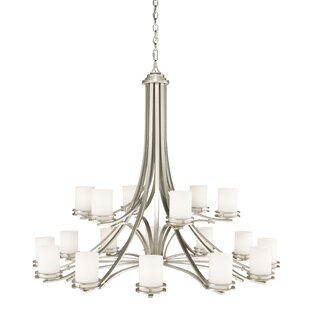 Andover Mills Clarkshire 18-Light Shaded Chandelier