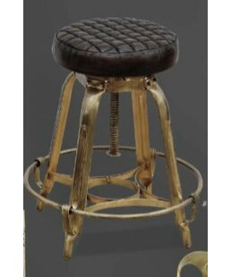 Wallingford Adjustable Height Bar Stool by Williston Forge No Copoun