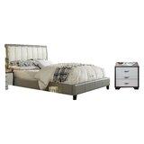Clevenger Queen Platform Configurable Bedroom Set by House of Hampton