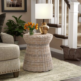 Rivera Rattan Side Table by Birch Lane™ Heritage