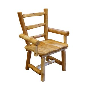 Aliceville Cedar Solid Wood Dining Chair