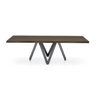 Cartesio - Table (Irregular Sculpted Edge) - Matt Grey Metal Legs by Calligaris Great Reviews