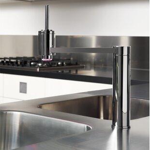 Maestro Bath Single Handle Kitchen Faucet with LED Light