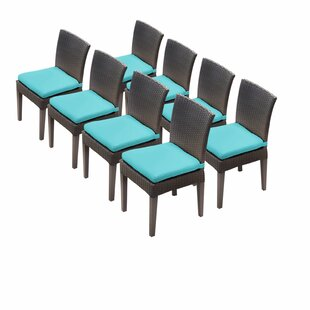 Medley Patio Dining Chair with Cushion (Set of 8)