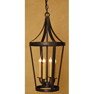 Argueta 4-Light Outdoor Hanging Lantern