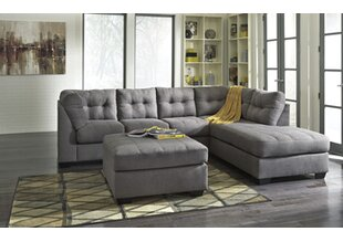 Zipcode Design Kristopher Sectional with Ottoman