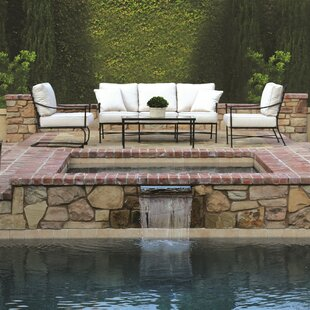 Provence 5 Piece Deep Sunbrella Seating Group with Cushions