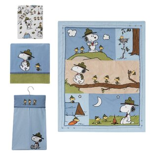 Great choice Snoopy's Campout Peanuts 4 Piece Crib Bedding Set ByPeanuts