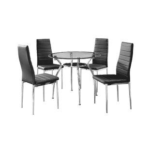 IDS Online Corp Metal Frame 5 Piece Dining Set