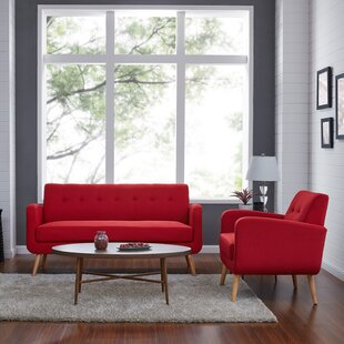 Find for Araceli 2 Piece Living Room Set by Turn on the Brights Reviews (2019) & Buyer's Guide