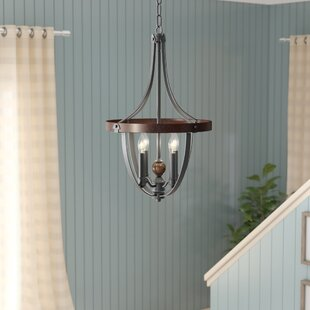 Resendez 4-Light Foyer Pendant by Gracie Oaks