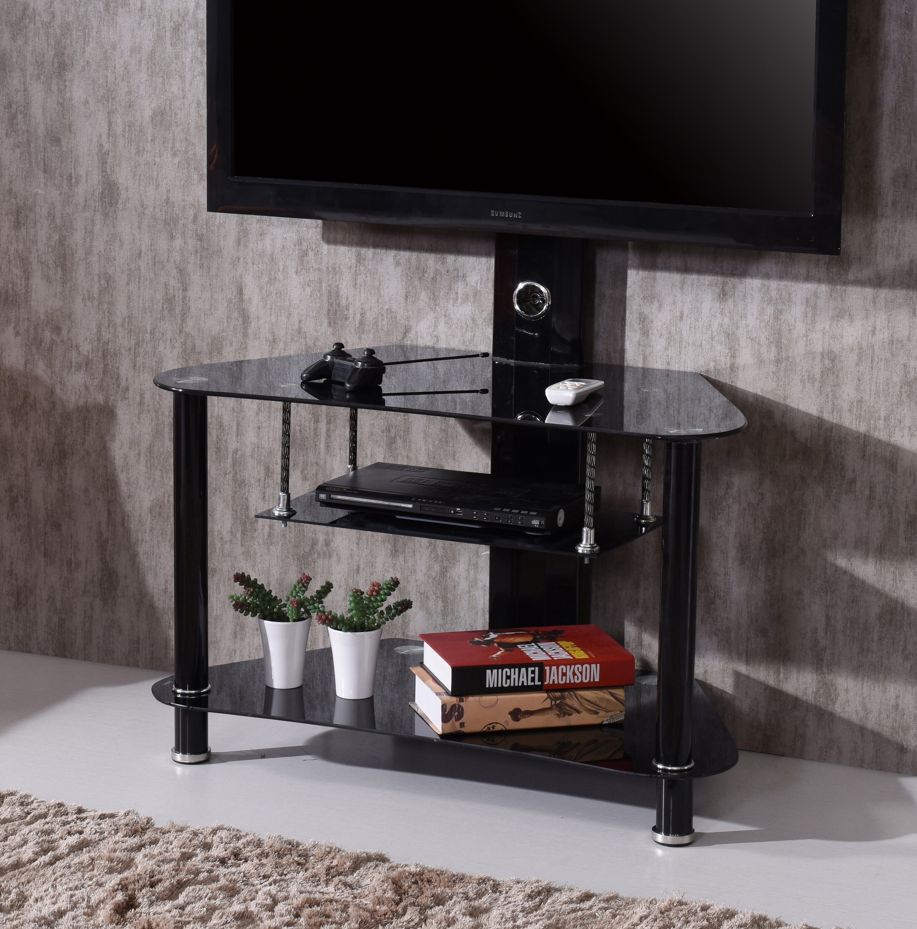 Hodedah Howard Tv Stand For Tvs Up To 42 Reviews Wayfair