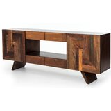 St George Solid Wood TV Stand for TVs up to 88 by Loon Peak®