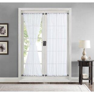 Back door curtain Off white French door curtains Mocha Curtain panel Door curtains Fabric door cover White Door panels