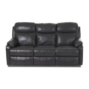 Torrance Reclining Sofa with Headrest and Lu..