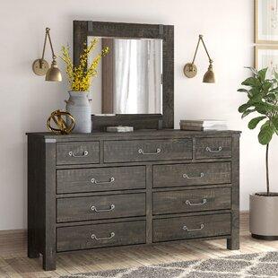 Great choice Freida 9 Drawer Dresser with Mirror by Birch Lane™ Heritage
