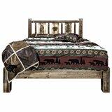 Abella Solid Wood Platform Bed by Loon Peak®