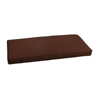 Bay Isle Home Outdoor Sunbrella Bench Cushion