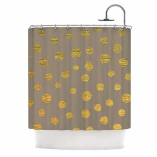 Earth Dots by Nika Martinez Single Shower Curtain