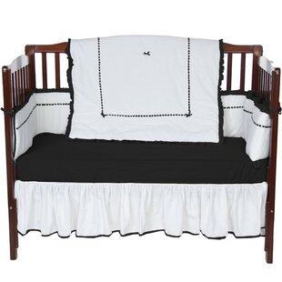 Best Reviews Crestline 4 Piece Crib Bedding Set ByHarriet Bee