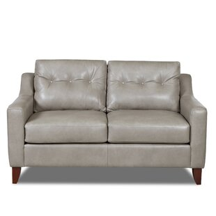 Levell Leather Loveseat