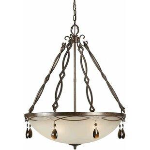 Herzig 4-Light Bowl Pendant by Bloomsbury Market