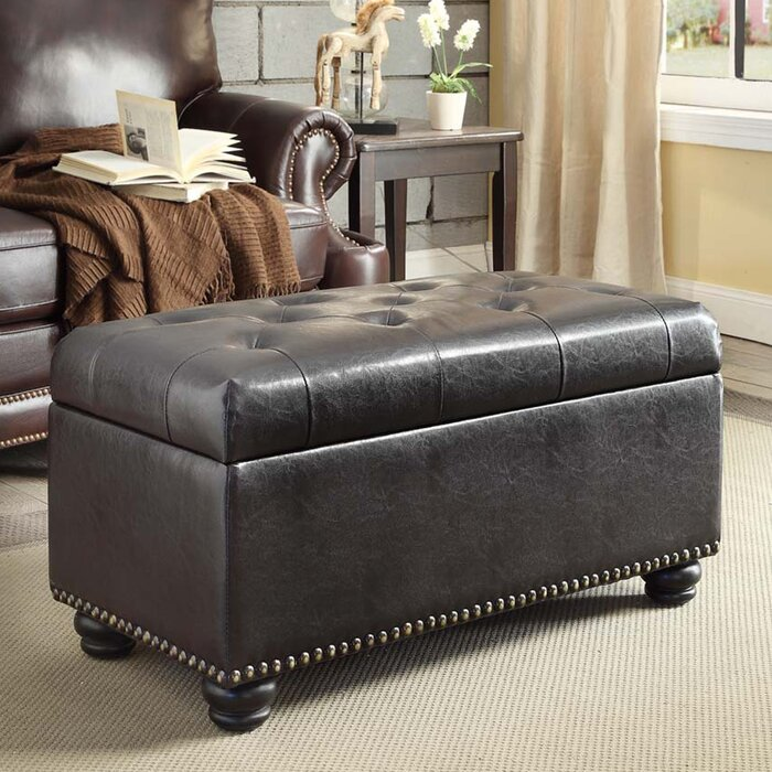 Enjoyable Mccroskey Tufted Storage Ottoman Gmtry Best Dining Table And Chair Ideas Images Gmtryco
