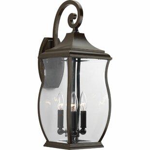 El Paso 3-Light Outdoor Wall Lantern