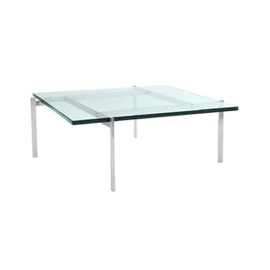 Mid-Century Modern Glass Coffee Table by Kar..
