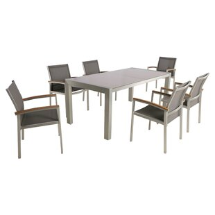 Ivy Bronx Boltongate Outdoor 7 Piece Dining Set