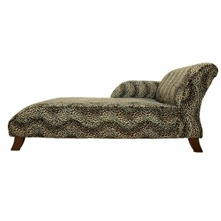 Ayon Animal Printed Chaise Lounge By World Menagerie