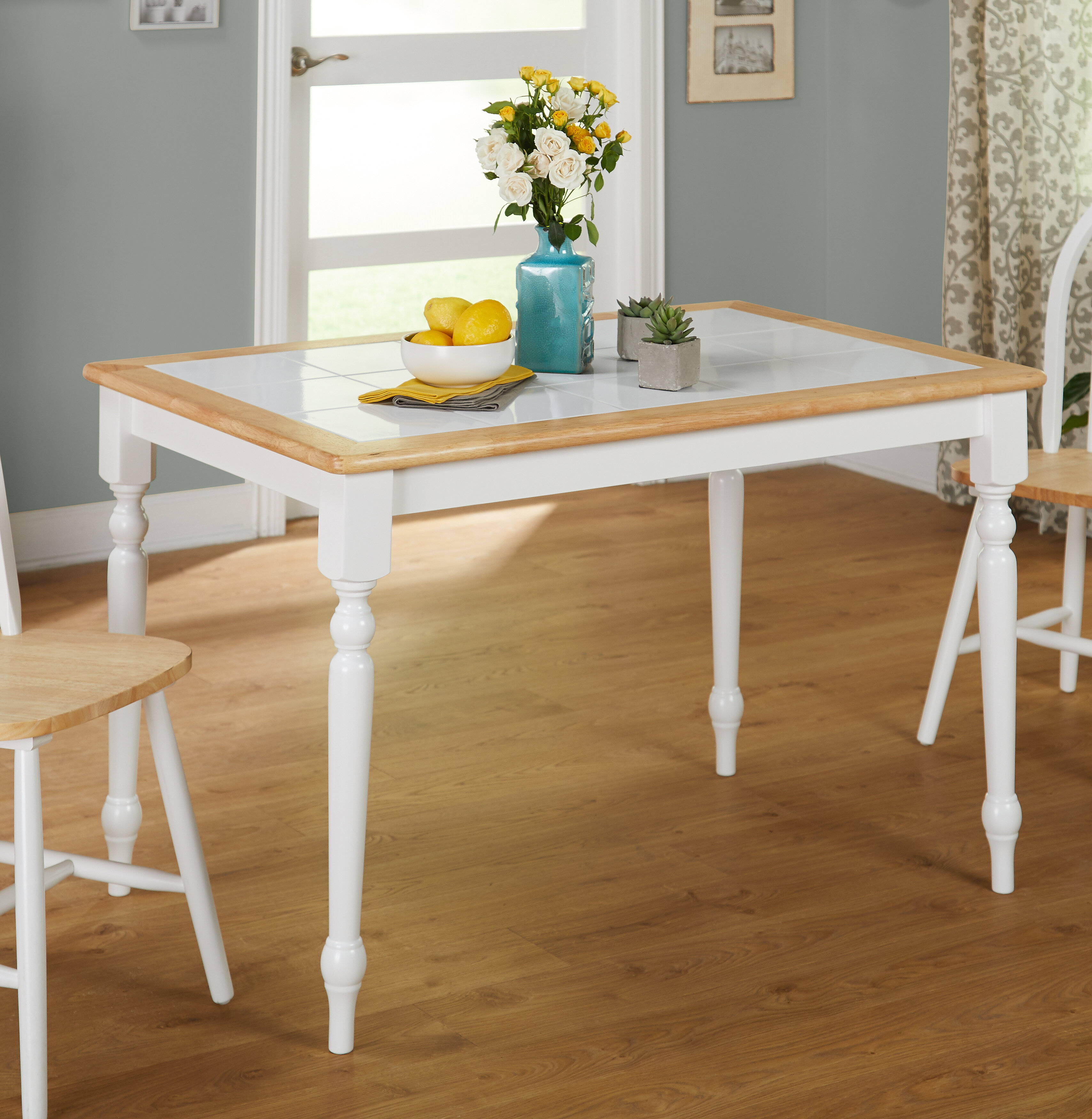 August Grove Trinidad Top Dining Table Reviews Wayfair