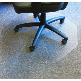 Cleartex Hard Floor Straight Edge Chair Mat By Floortex