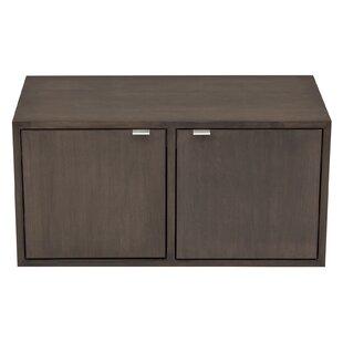 Media 2 Door Storage Cabinet b..